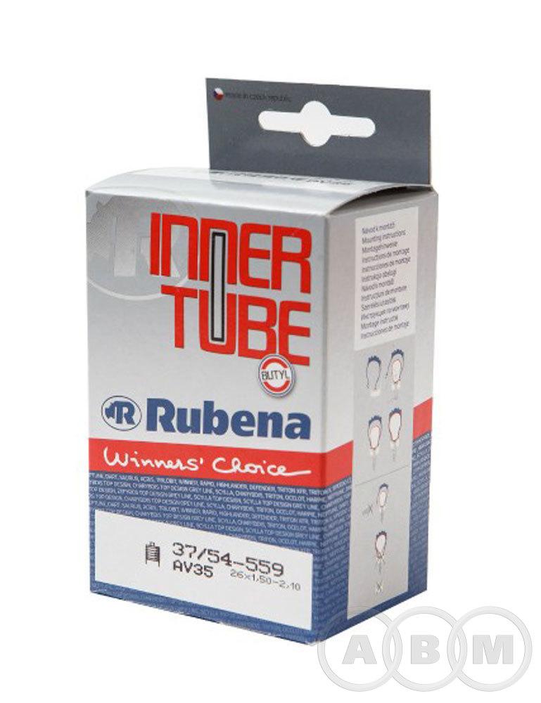 Камера 26x1,50-2,10, черный, (37/54-559) Rubena Classic