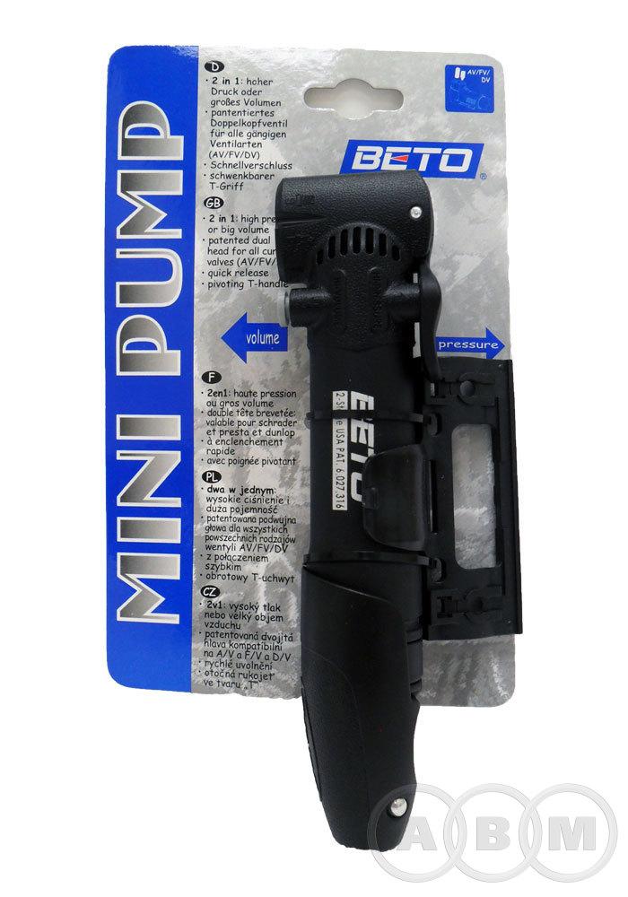 Насос 5-470306 пласт. 2 функции 2 головки Т-ручка BETO