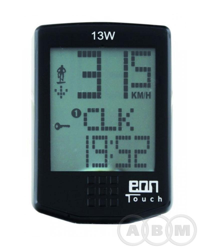 Велокомпьютер ECHOWELL  13 функций сенсорн. управл. подсветка 5-244611 (м)