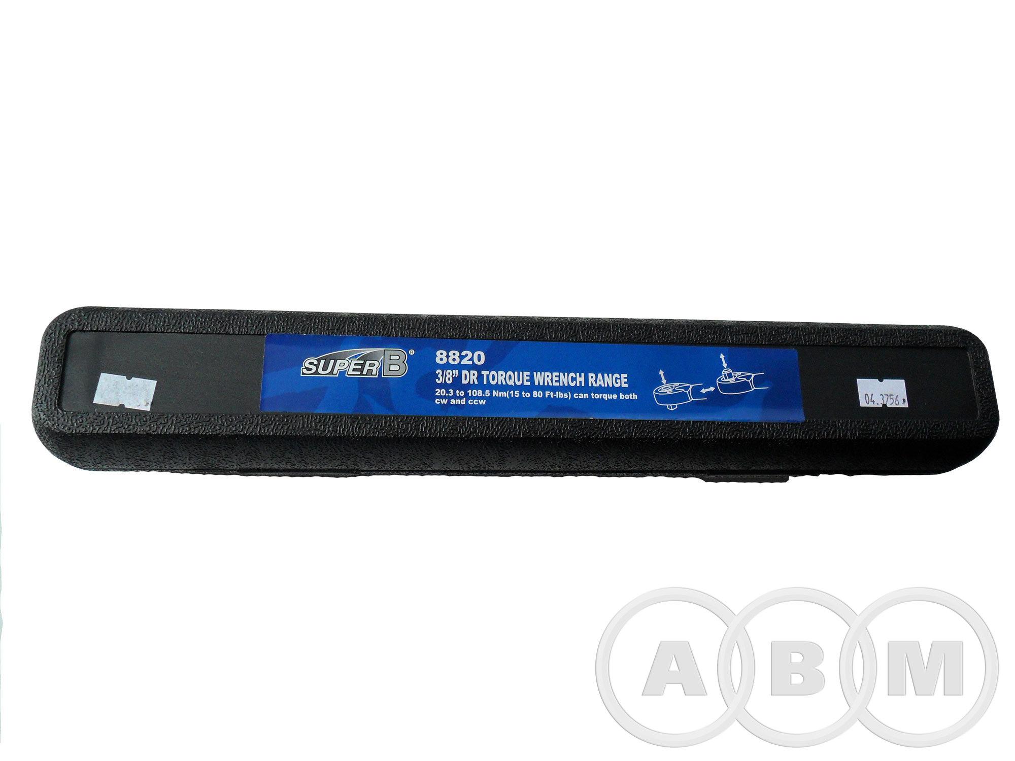 Ключ динамометрический 3/8 20.3-108.5 Nm SuperB 8820