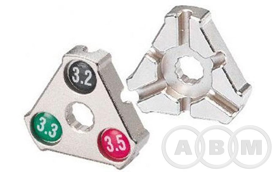 Захват для спиц 0.127/0.130/0.136 YC-1A треугольный BIKEHAND