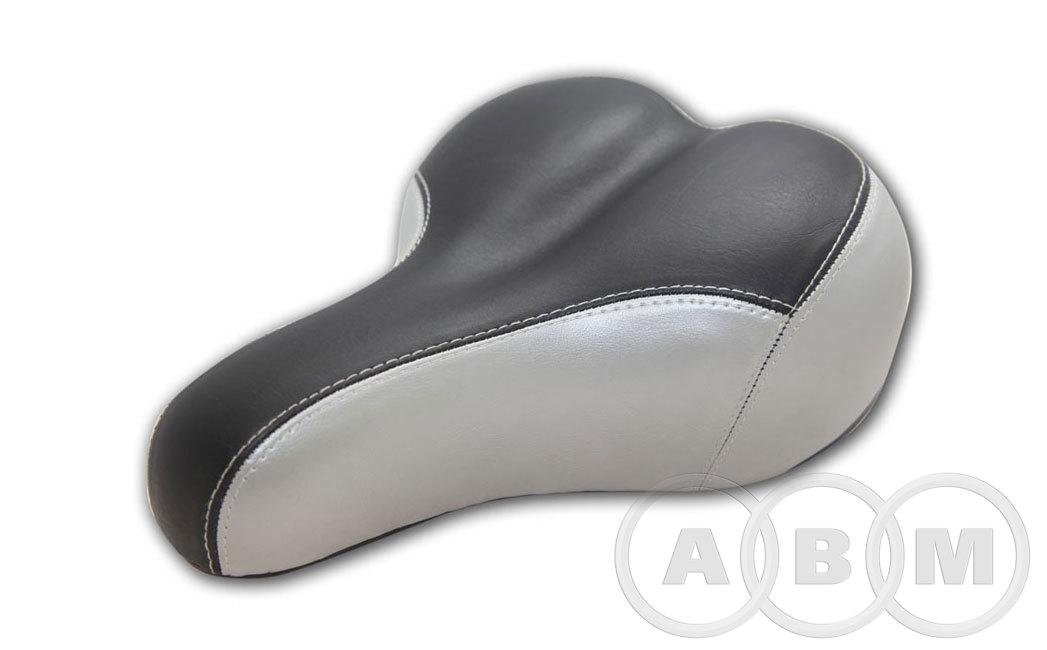 Седло комфорт (черно-серое)