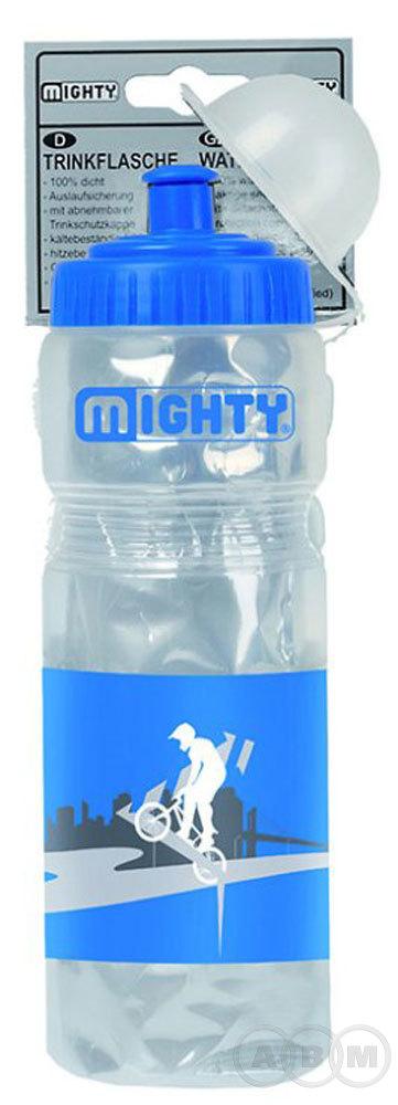 Фляга пластик+фольга,прозрачная. 0.4 л