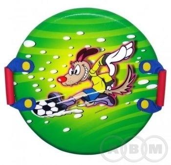 Санки-ледянки POLAR-RACER Soccer Dog 55см (21)