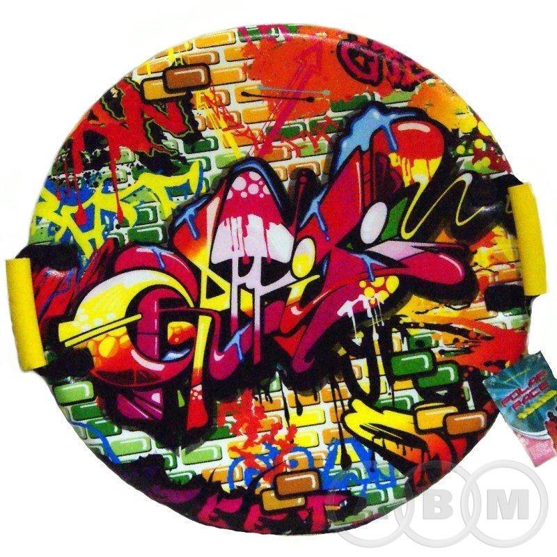 Санки-ледянки POLAR-RACER Graffiti   55см/25мм (21)