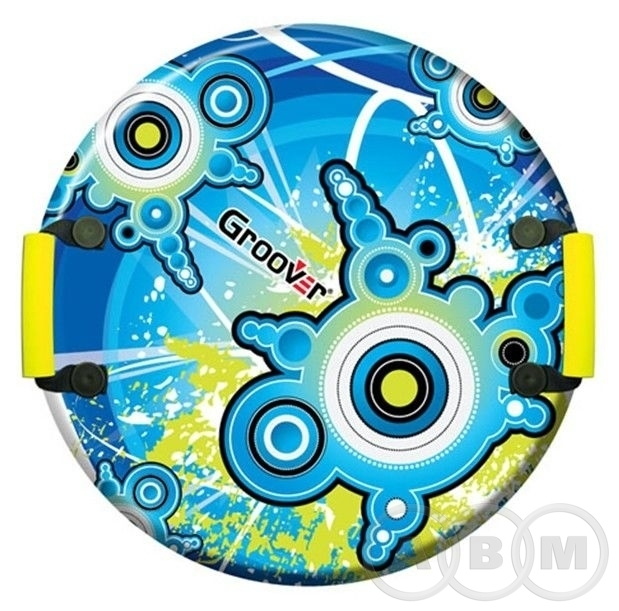 Санки-ледянки POLAR-RACER Blue target    55см (21)
