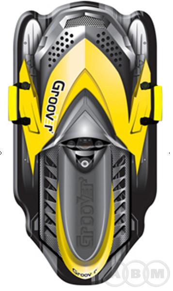 Санки-ледянки POLAR-RACER Snowmobile  105см/5мм (42)