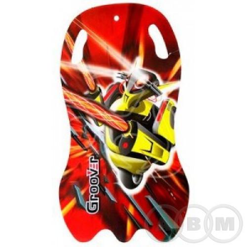 Санки-ледянки POLAR-RACER Red Robot    92см/5мм (36)