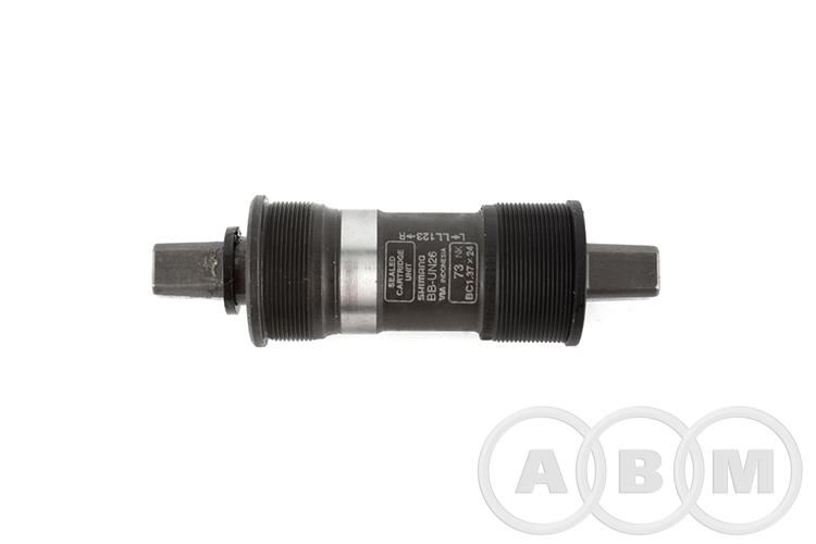 Каретка SR-BBS18L22 картриджная 68/122 мм серебро SUN RACE