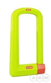 Замок велосипедный 501/160HB230 uGrip Plus (lime)