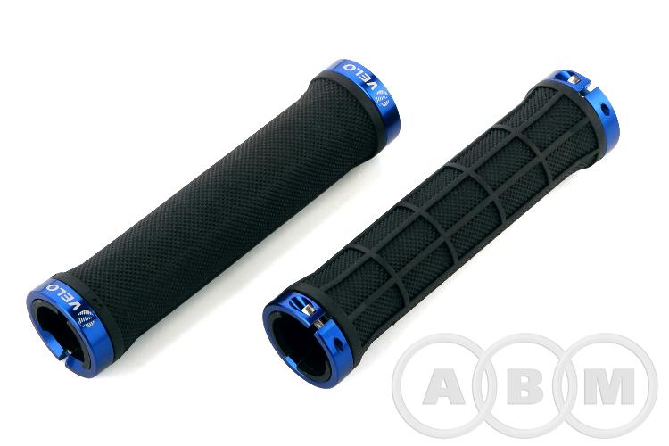 Рукоятки руля  135 мм VLG975AD2   черный/синий