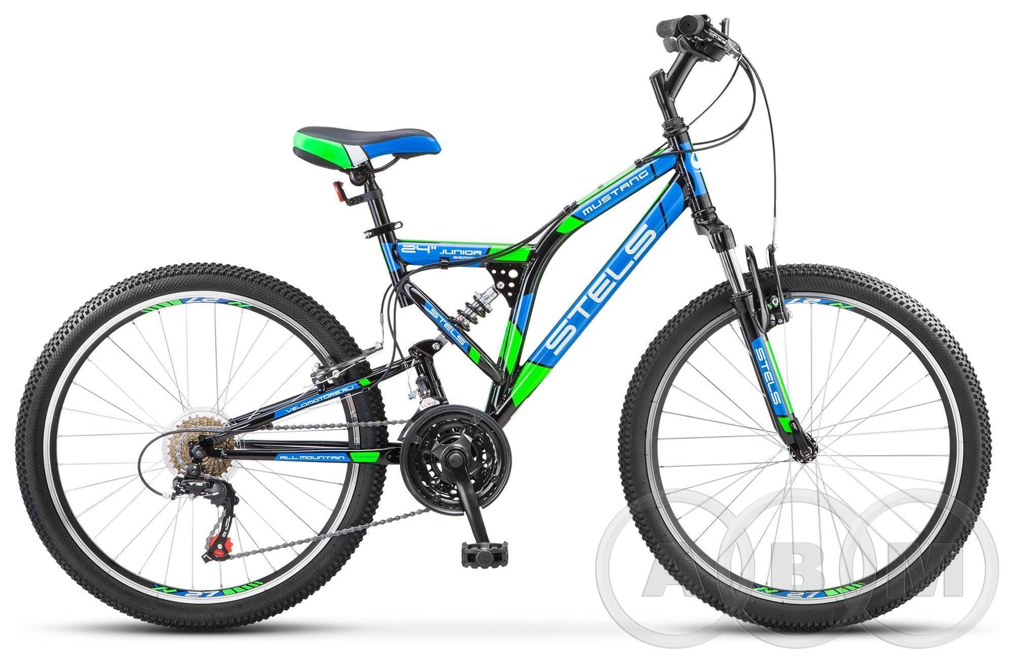 24 Велосипед Stels Mustang V 21 ск.