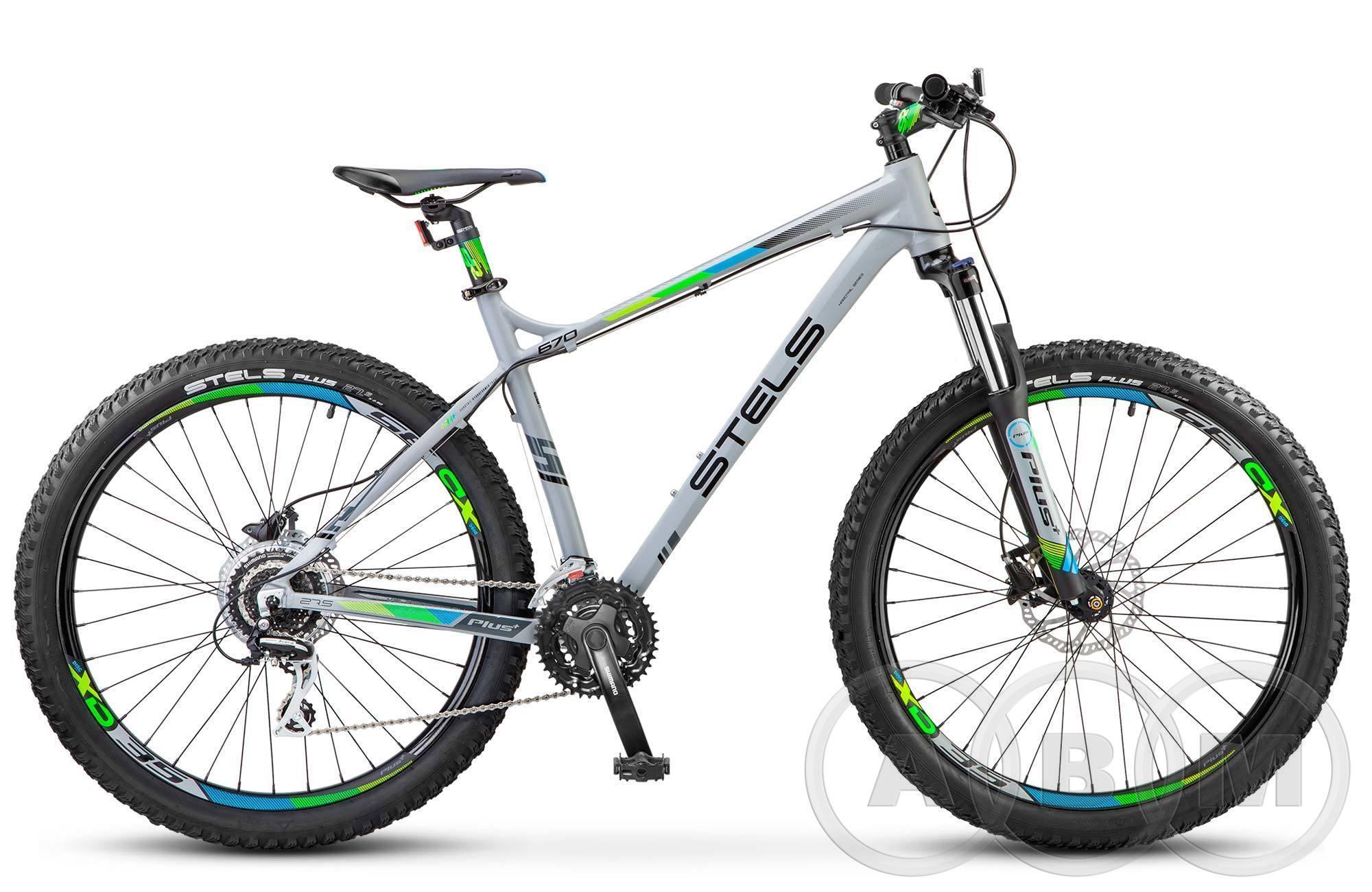 27,5 Велосипед Stels Navigator-670 D  24 ск.