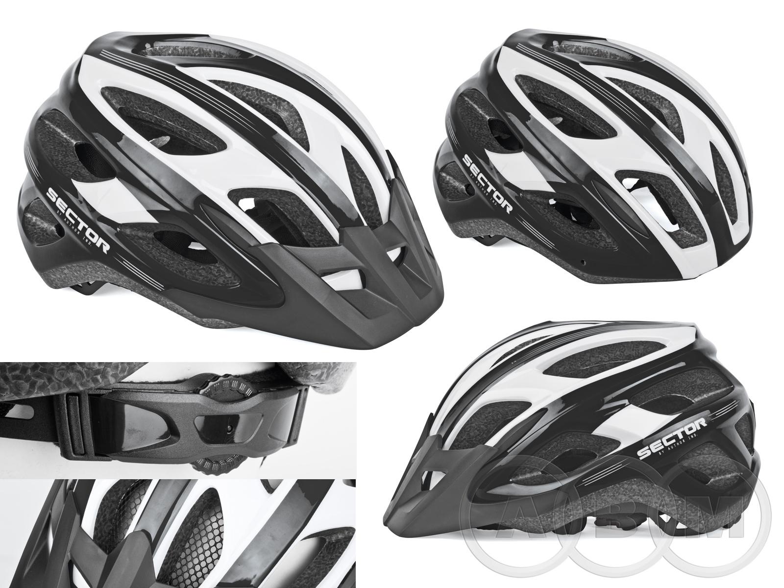 Шлем с сеточкой Sector 123 18 отв.  в ассортименте AUTHOR