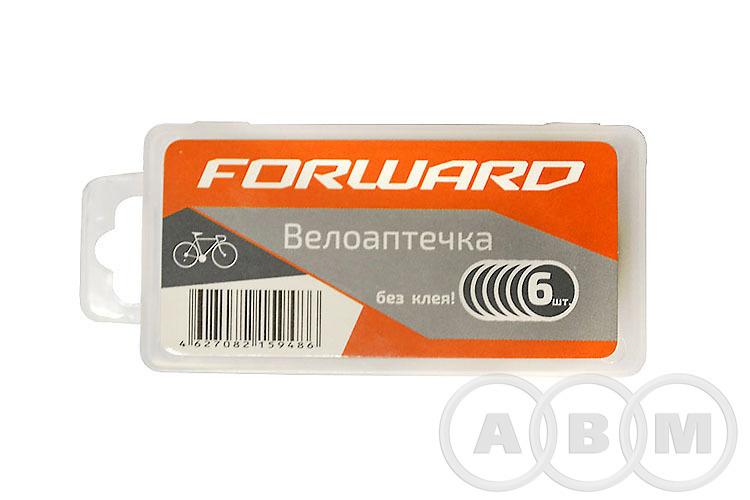 Велоаптечка пластиковый бокс (6 самоклеющихся заплаток)