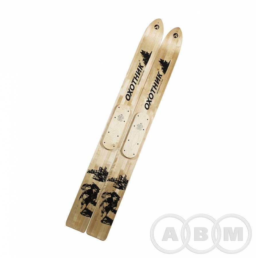 4С5 Лыжи промысловые охотничьи  дерево-пластик шир. 150мм