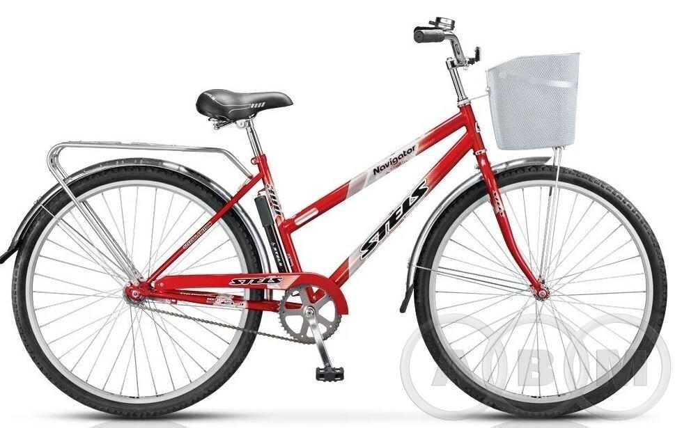 28 Велосипед Stels Navigator 300 Lady  с корзиной 1 ск.