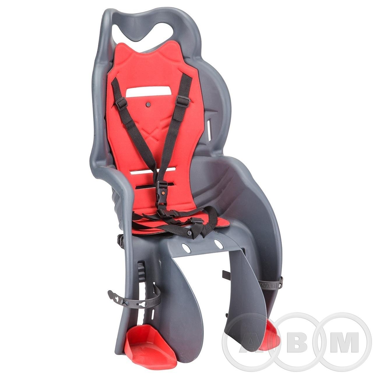 Кресло детское SANBAS P крепление на багажник,серое (280043)
