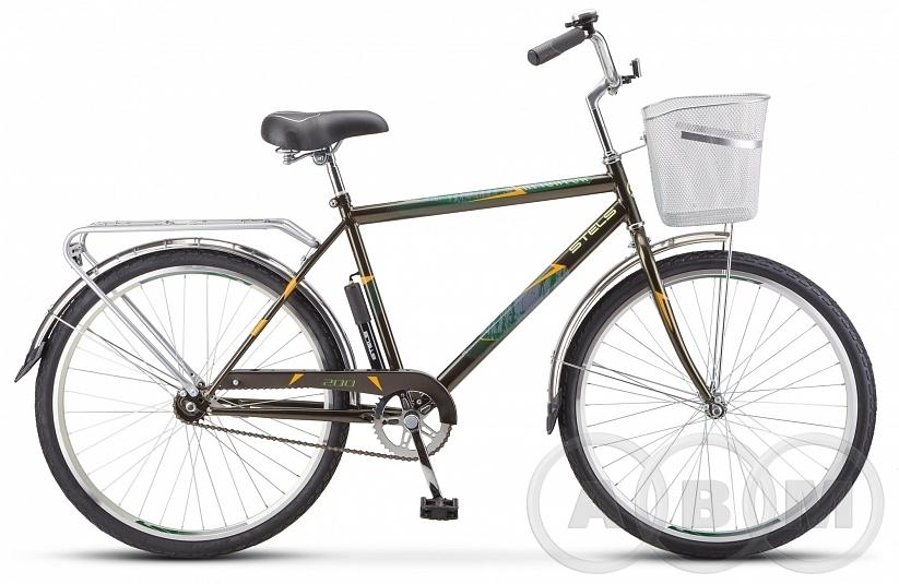 26 Велосипед Stels Navigator 200 Gent с корзиной 1 ск  (Z010)