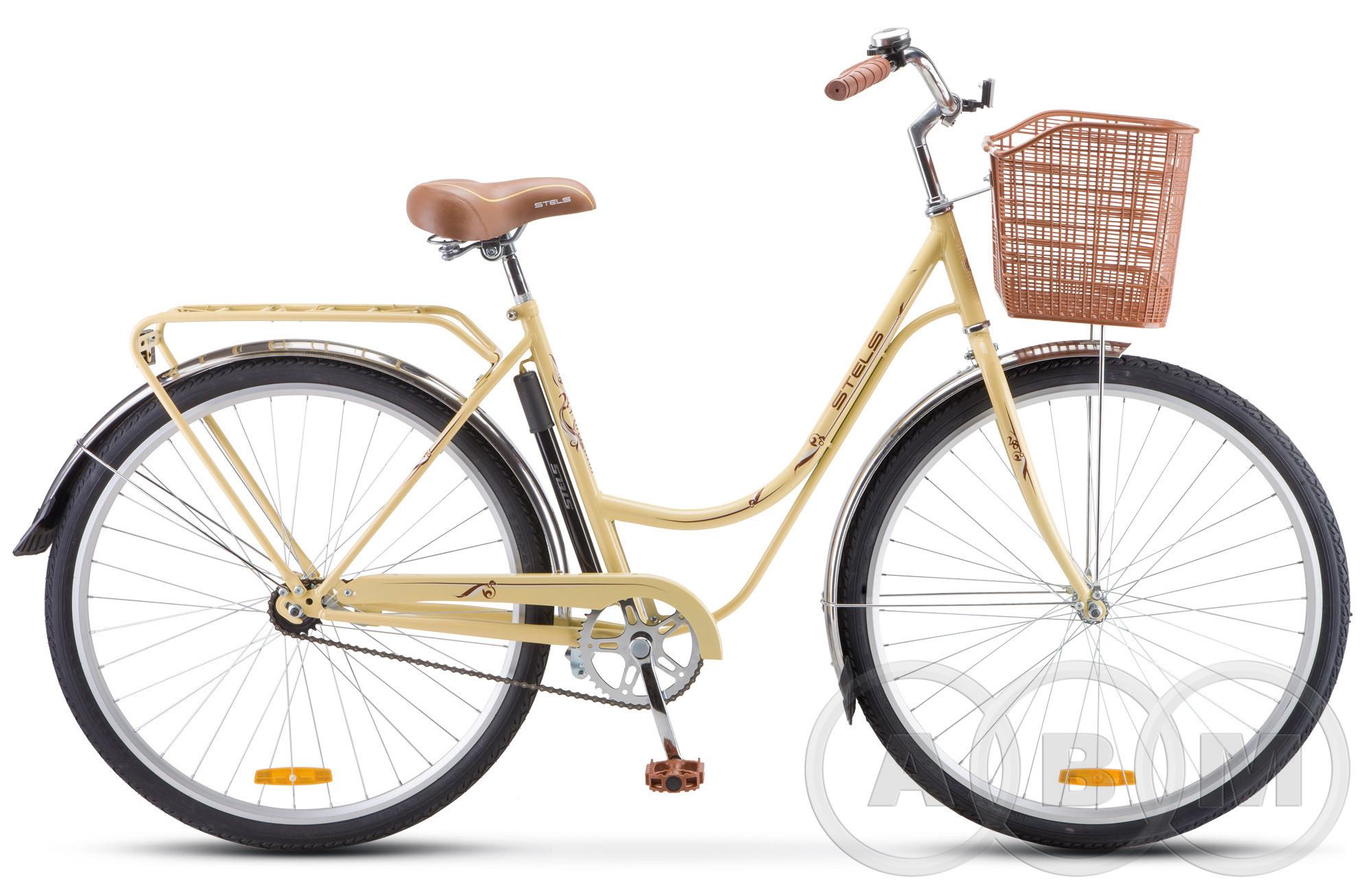 28 Велосипед Stels Navigator 325 с корзиной 1 ск (Z010)