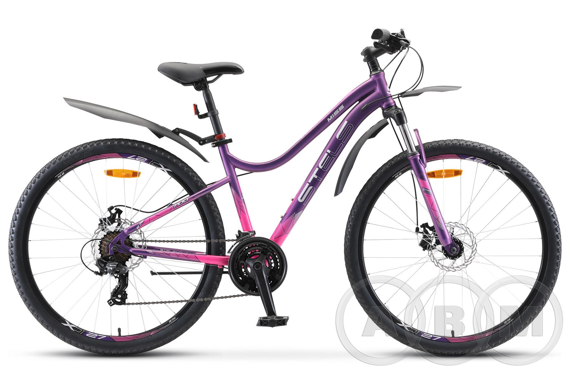 27,5 Велосипед Stels Miss-7100 MD 21ск alu  (V020)