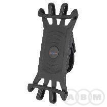 Держатель для смартфона силиконовый на вынос вращ. 360 на руль или вынос 3.5-6.5 M-WAVE