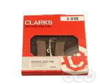 Колодки тормозные дискShimano- Hope VX-801C  полимер  CLARK'S