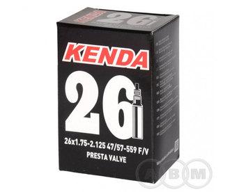 """Камера 26""""х 1,75х2,125 (40/57-559) спорт ниппель 48мм  Kenda"""