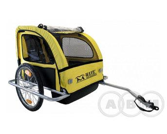 Крепление-прицеп для перевозки детей и грузов  2 сидения с крышей  (м)