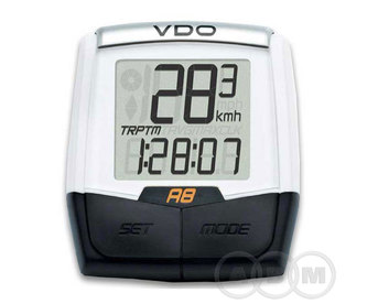 Велокомпьютер VDO A8  проводной 8 ф-ции Германия 4-1200