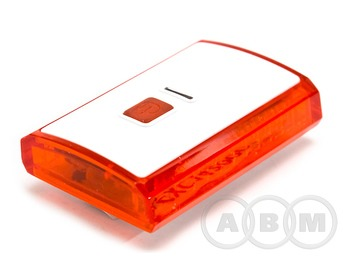 Фара задняя велосипедная XC-142 3 светодиода,USB-шнур для зарядки