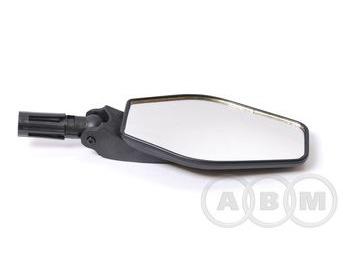 Зеркало ромбообразное плоское, торцевое крепление