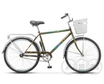 """26"""" Велосипед Stels Navigator 210 Gent  с корзиной 1 ск"""