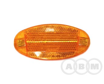 Катафот на спицы пластик желтый JL-Z041E