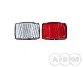 Катафоты задний (красный) + передний (белый)