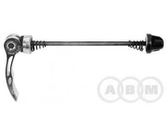 Эксцентрик переднего колеса алюм. 100мм серебро 5-321028
