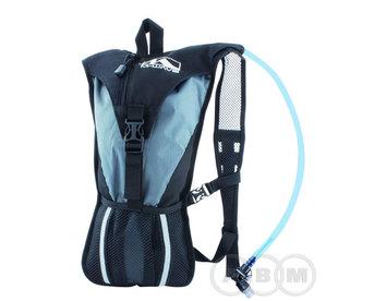 Рюкзак с гидропаком  2л серо-черный M-WAVE