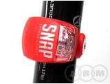 Фонарь AUTHOR брелок задний красный с батарейками