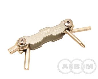 Набор шестигранников складной 9950 4/5/6/8 мм Super B