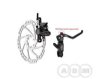 Торм. набор диск. передн. гидр. Aurida Pro черный TEKTRO 6-700
