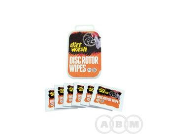 Очиститель салфетки для торм. ротора,ободов  6 шт DIRTWASH WELDTITE 7-040221
