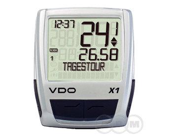 Велокомпьютер VDO X1 11 ф-ций (м)