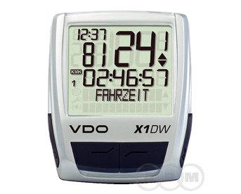 Велокомпьютер VDO X1-DW б/проводной (м)