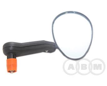 Зеркало выпуклое крепление на торец руля внутр. диам. 15-22мм