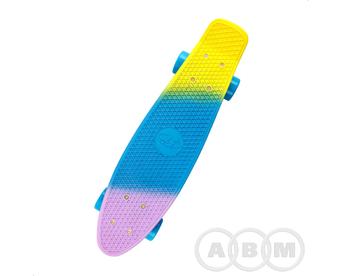 Скейтборд TechTeam Tricolor 22